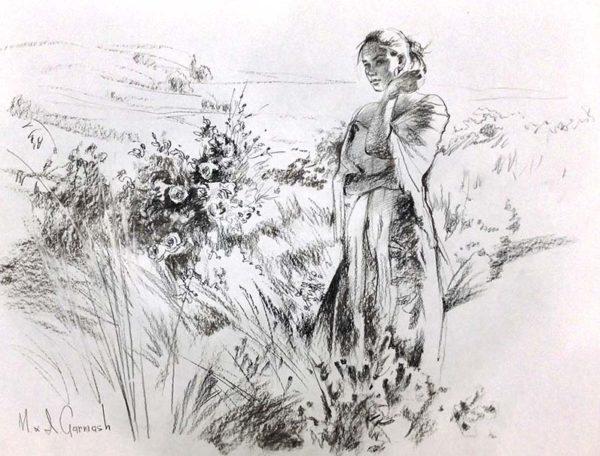 Promise - Original Pencil Sketch, Overview