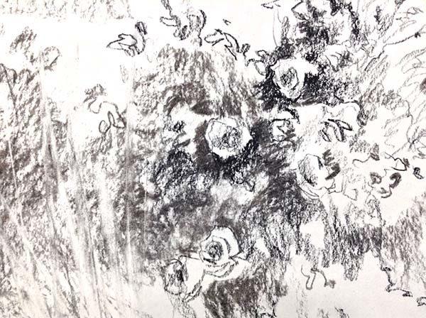 Promise - Original Pencil Sketch, Detail 2