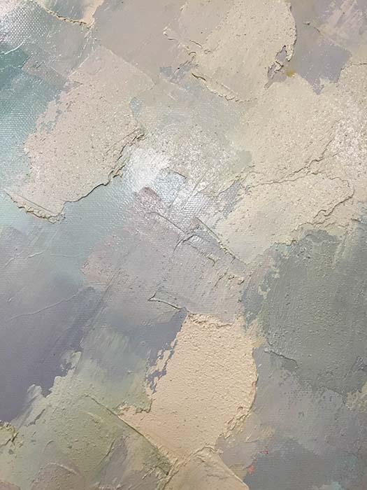 Purple Trio by Johnson, Texture