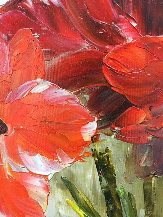 Red Gems by Jamie Lisa, Detail 1