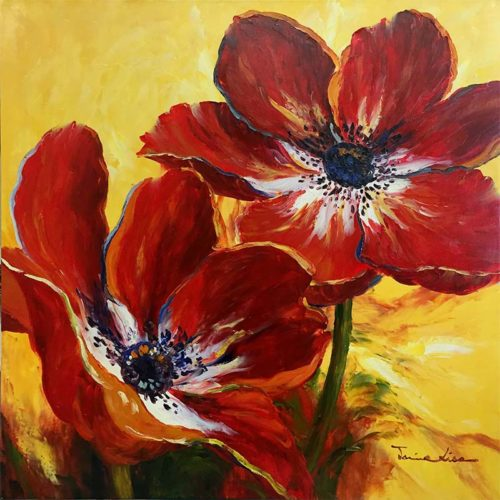 Red Poppies by Jamie Lisa, Overview