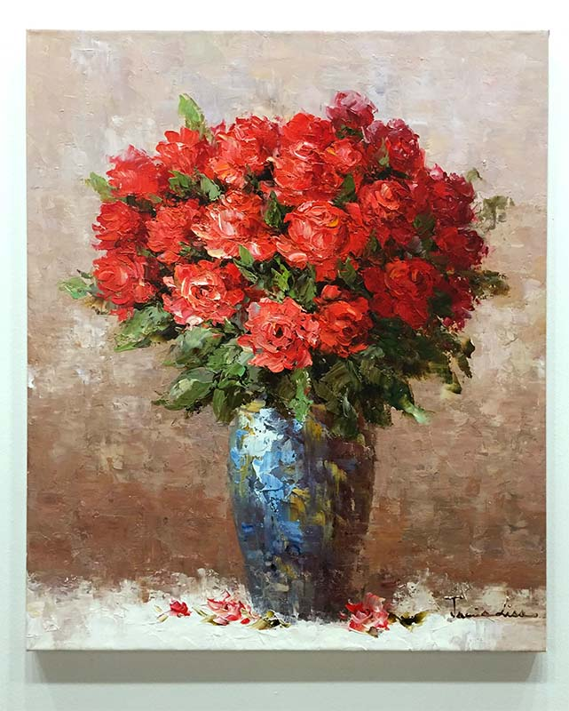 Red Rose Bouquet by Jamie Lisa, Overview