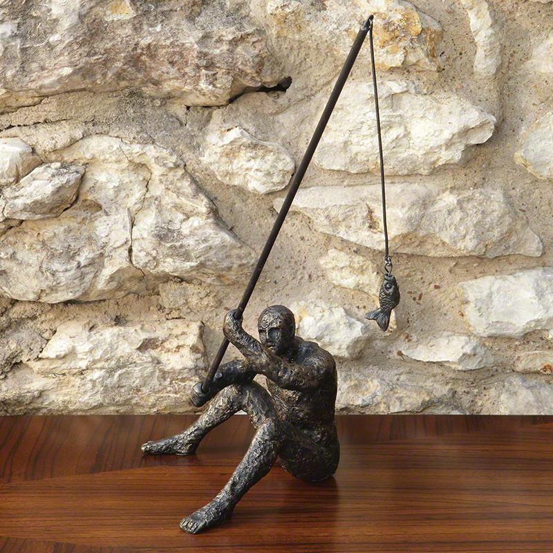 Reel It In Sculpture - 8.81992