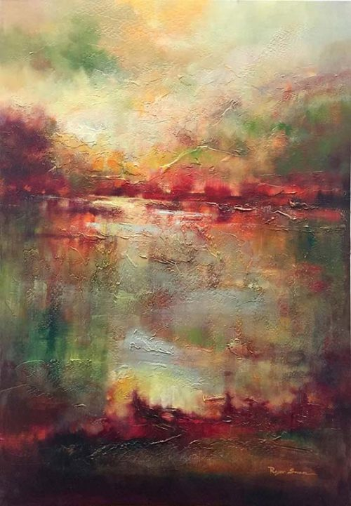 Reflections in Red by Roger Swan, Overview