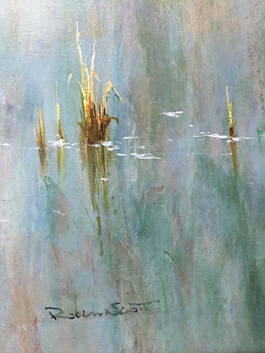 Reflections by R. Scott, Signature