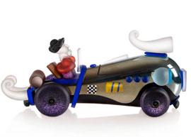 Retro Car: 24-500-1 in Multicolor
