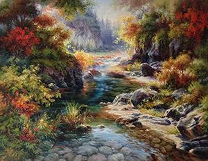 Enchanted River I by Dae Chun Kim