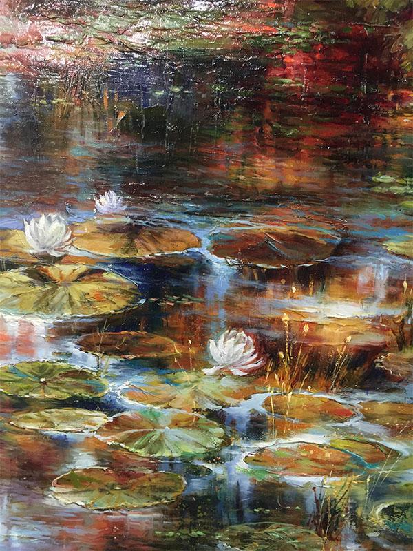 River Bend by Dae Chun Kim, Detail