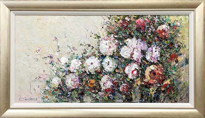 Rose Bush II by Konstantin Savchenko, Framed