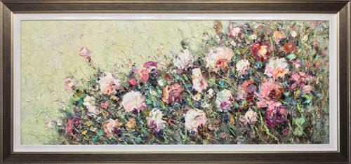 Roses by Konstantin Savchenko, Framed
