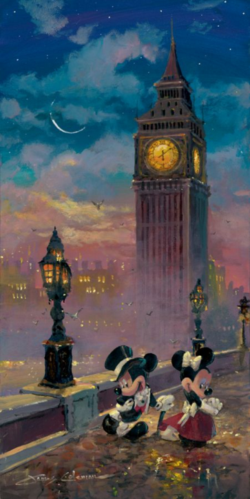 Mickey and Minnie in London by James Coleman