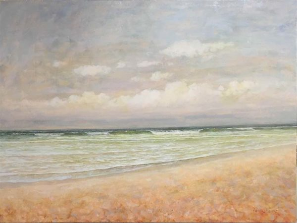 Seashore Serenity by Peter Blair, Overview