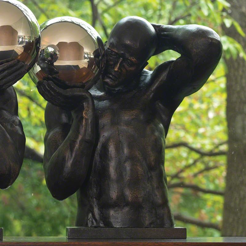 Shot Put Sculpture (Right) - 8.81589