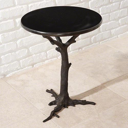 Faux Bois Side Table - 8.80497