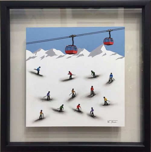 Ski Lift by Nuria Miro, Overview