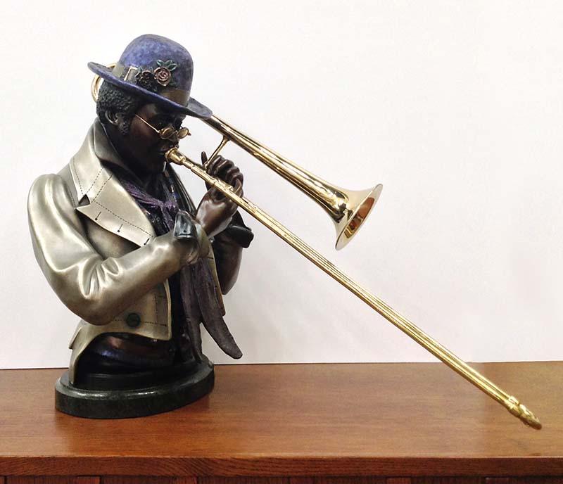 A. Matthews - Slide Trombonist, View 1
