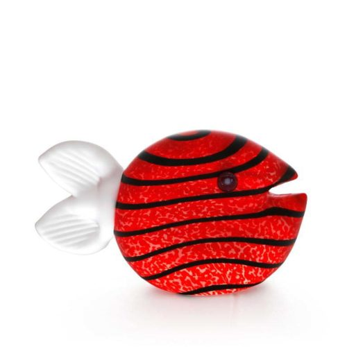 Snippy Small Paperweight: 24-03-30 in Red