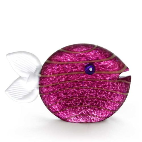 Snippy Tall Paperweight: 24-03-40 in Purple
