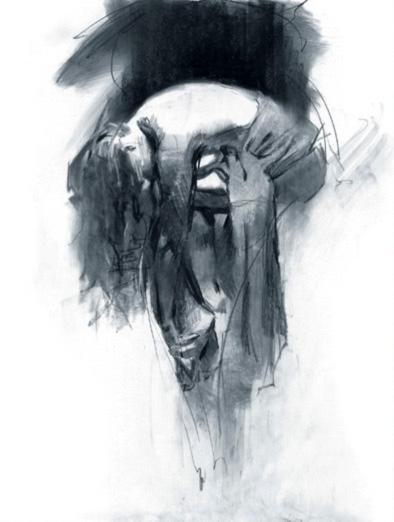 Solace - Limited Edition Charcoal Study