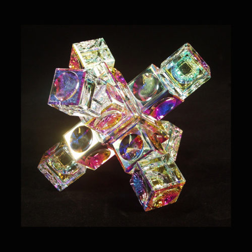 Crystal Cube Space Station by Harold Lustig