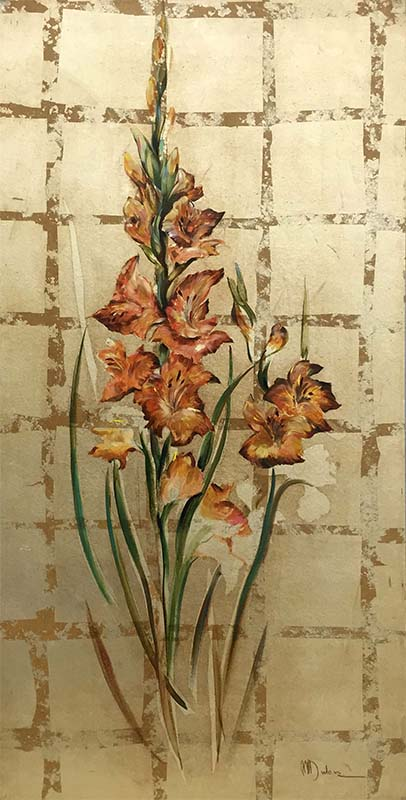 Spring Expression IV by Mary Dulon, Overview