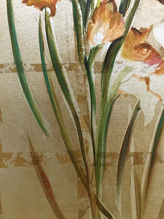 Spring Expression IV by Mary Dulon, Detail