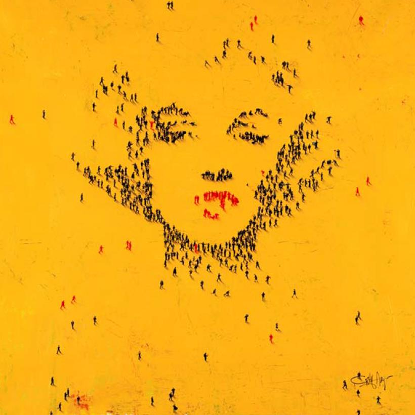 Craig Alan Painting, Marilyn Monroe: Starlet, Populous Series