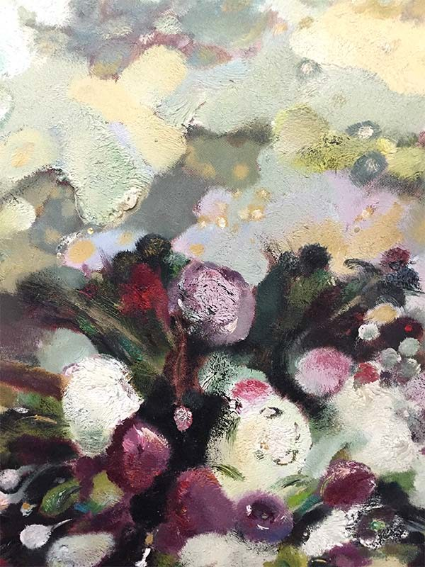 Spring Bouquet with Fruit by Lillian, Detail