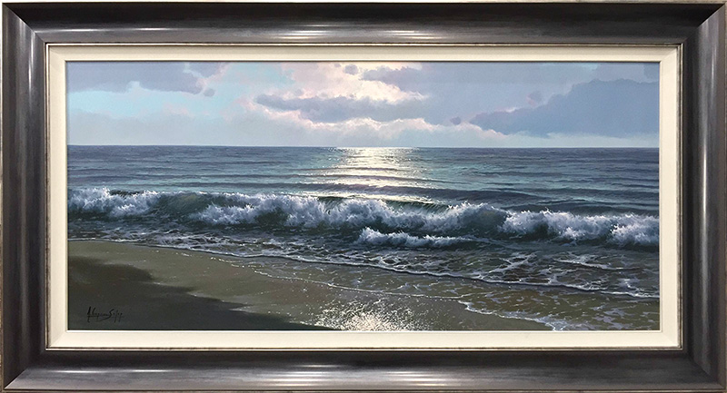Glowing Clouds Over Waves by Antonio Soler, Overview