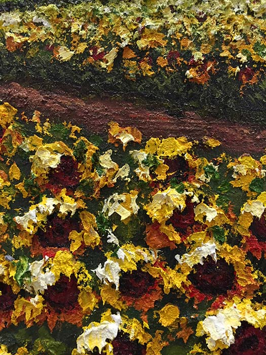 Sunflower Lane by Jung Mario, Detail