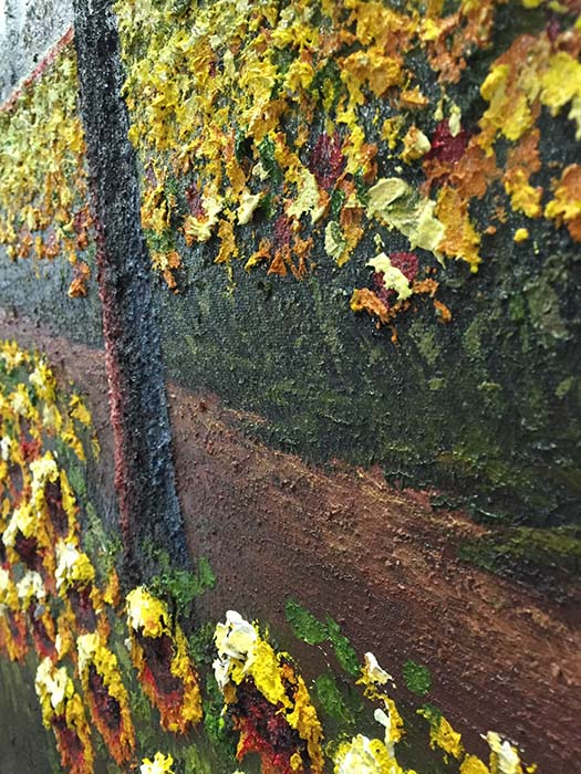 Sunflower Lane by Jung Mario, Texture