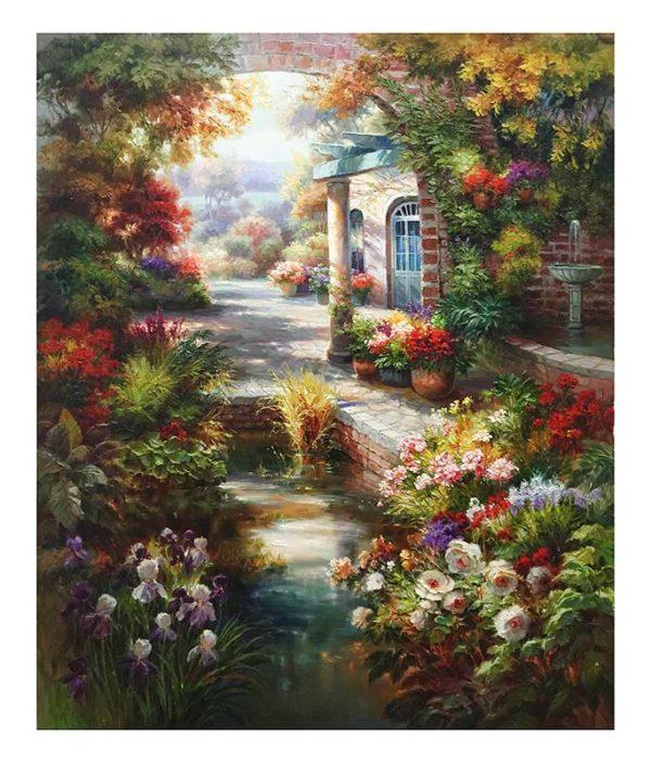 Sunlit Garden by Dae Chun Kim, Overview