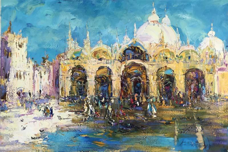 Sunny Venice by Konstantin Savchenko, Overview