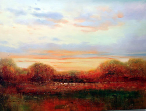 Golden Horizon by Roger Swann Artwork