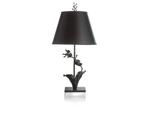 Black Orchid Table Lamp, Item #411401