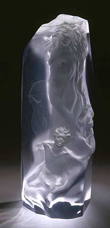 The Divine Milieu - Acrylic Sculpture