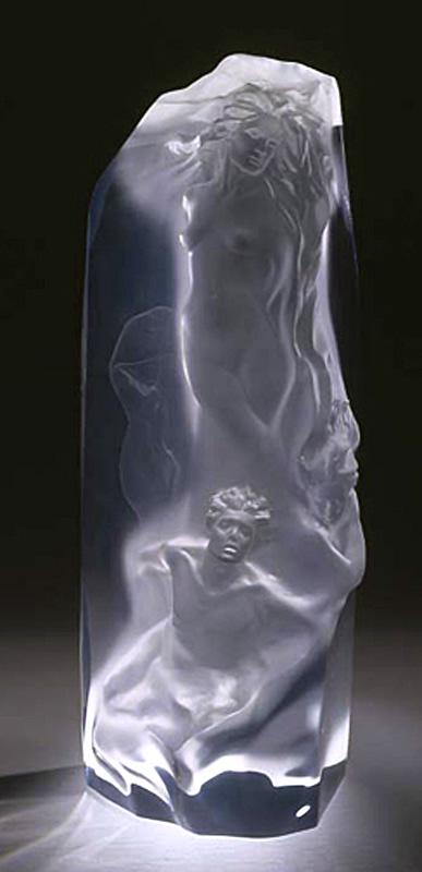The Divine Milieu - Acrylic Sculpture