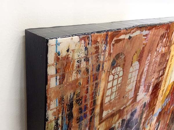 Time Passages II - Original Oil Painting on Wood, View 4