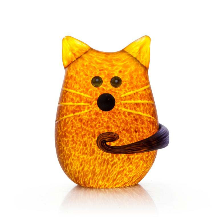 Tom Paperweight: 24-03-87 in Amber
