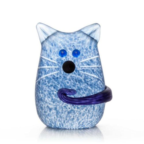 Tom Paperweight: 24-03-88 in Blue