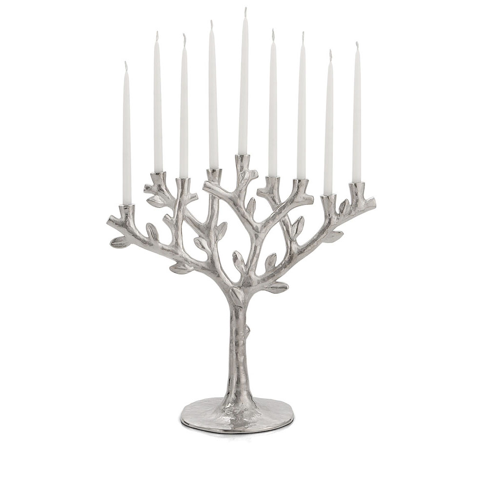 Tree of Life Menorah, Item #132316