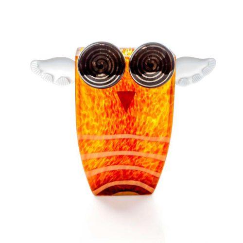Uhu Vase: 24-03-78 in Amber