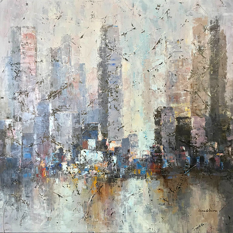 Urban Light II by Lena Guavo, Overview