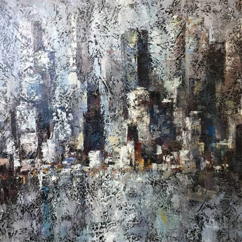 Urban Night I by Lena Guavo, Overview