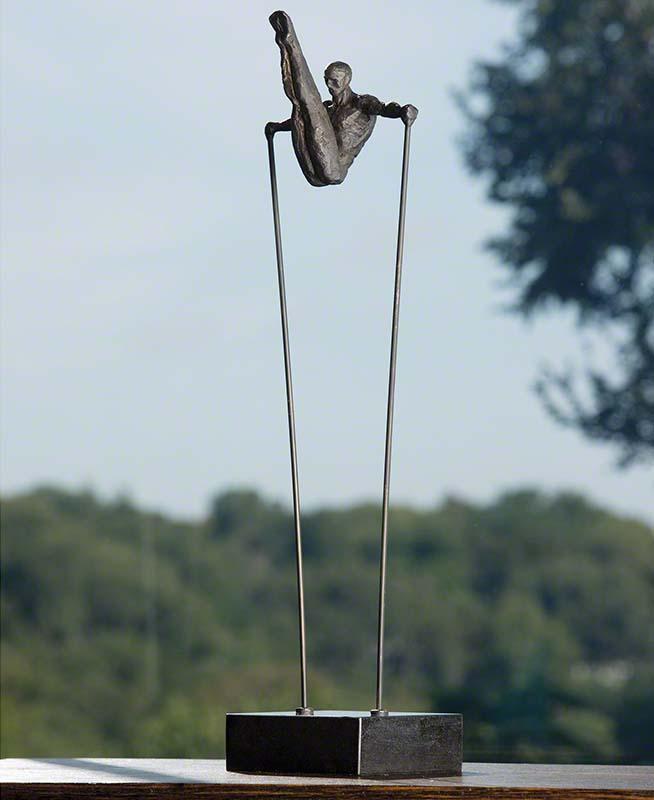 V Shaped Acrobat Sculpture - 8.80850