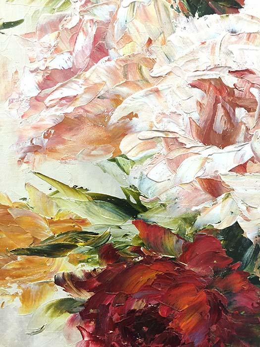 Vase de Fleurs by Jamie Lisa, Detail 2