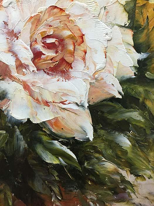 Vase de Fleurs by Jamie Lisa, Detail 1