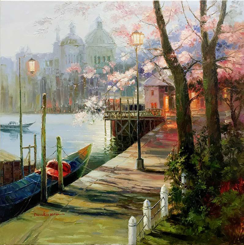 Venice Port by Dae Chun Kim, Overview