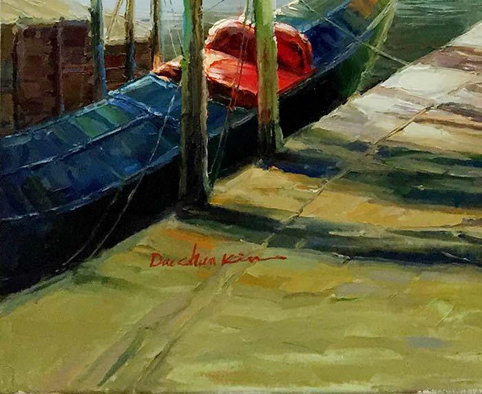 Venice Port by Dae Chun Kim, SIgnature