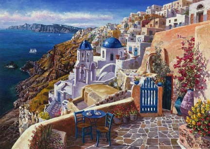 View of Santorini - Limited Edition